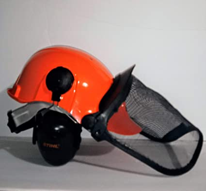 Amazon.com: Stihl 0000 886 0100 forestal Casco sistema ...