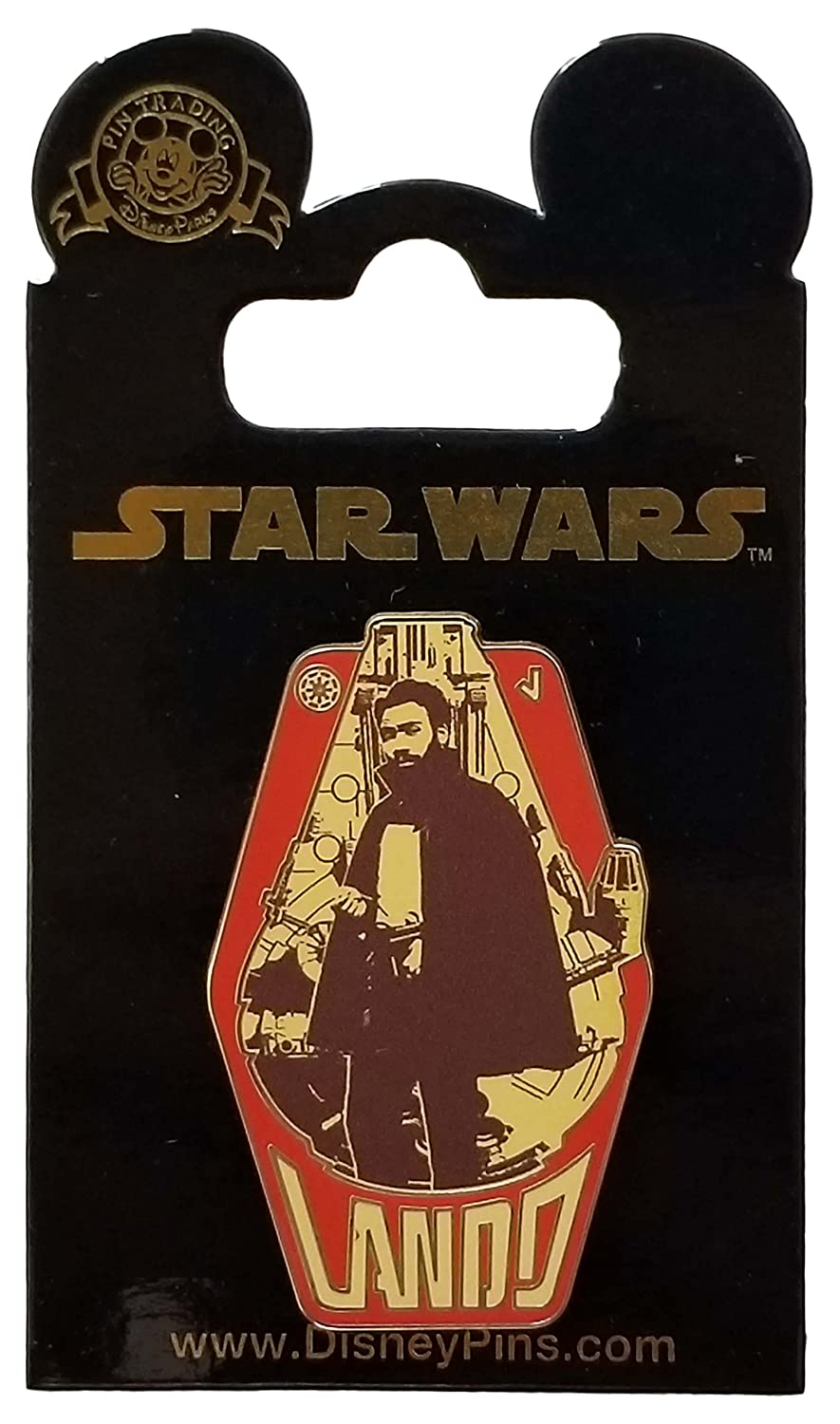 Disney Pin - Star Wars - Solo - Lando