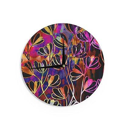 Pink 12 Diameter Kess InHouse EBI Emporium Bloom On