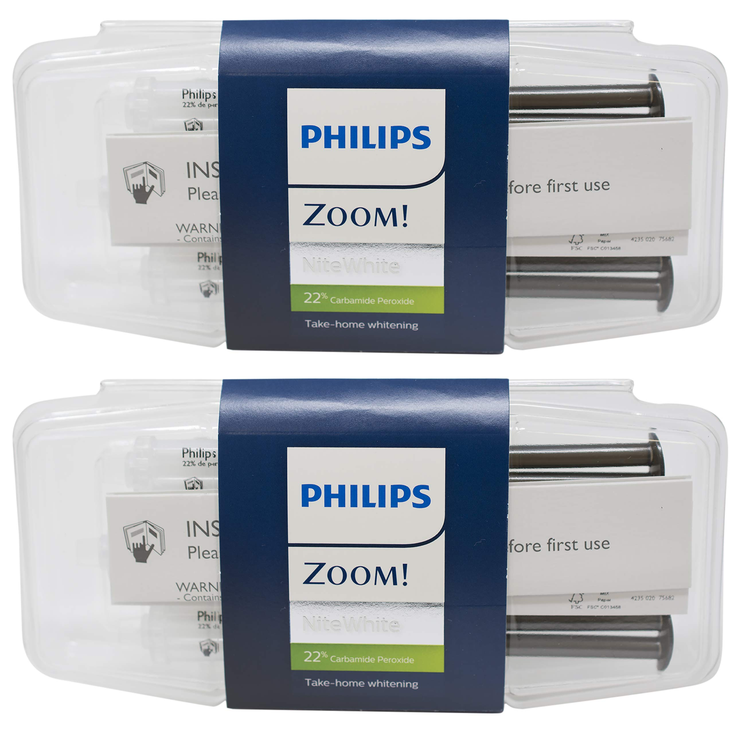 Philips Zoom Whitening (Nite White 22%, 6 syringes)
