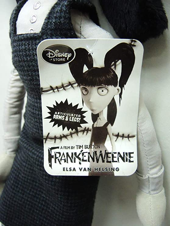 Amazon Com Frankenweenie Plush Elsa Van Helsing 22 Inch Tall Toys Games