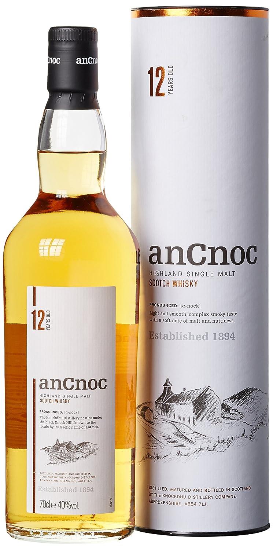 AnCnoc 12 Years Single Malt Whisky (1 x 0.7 l): Amazon.de: Bier ...