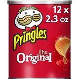 Pringles Potato Crisps Chips, Original, 2.3oz (12 Count)