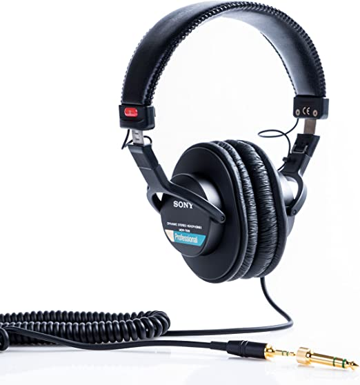Amazon Com Sony Mdr7506 Professional Large Diaphragm Headphone Musical Instruments
