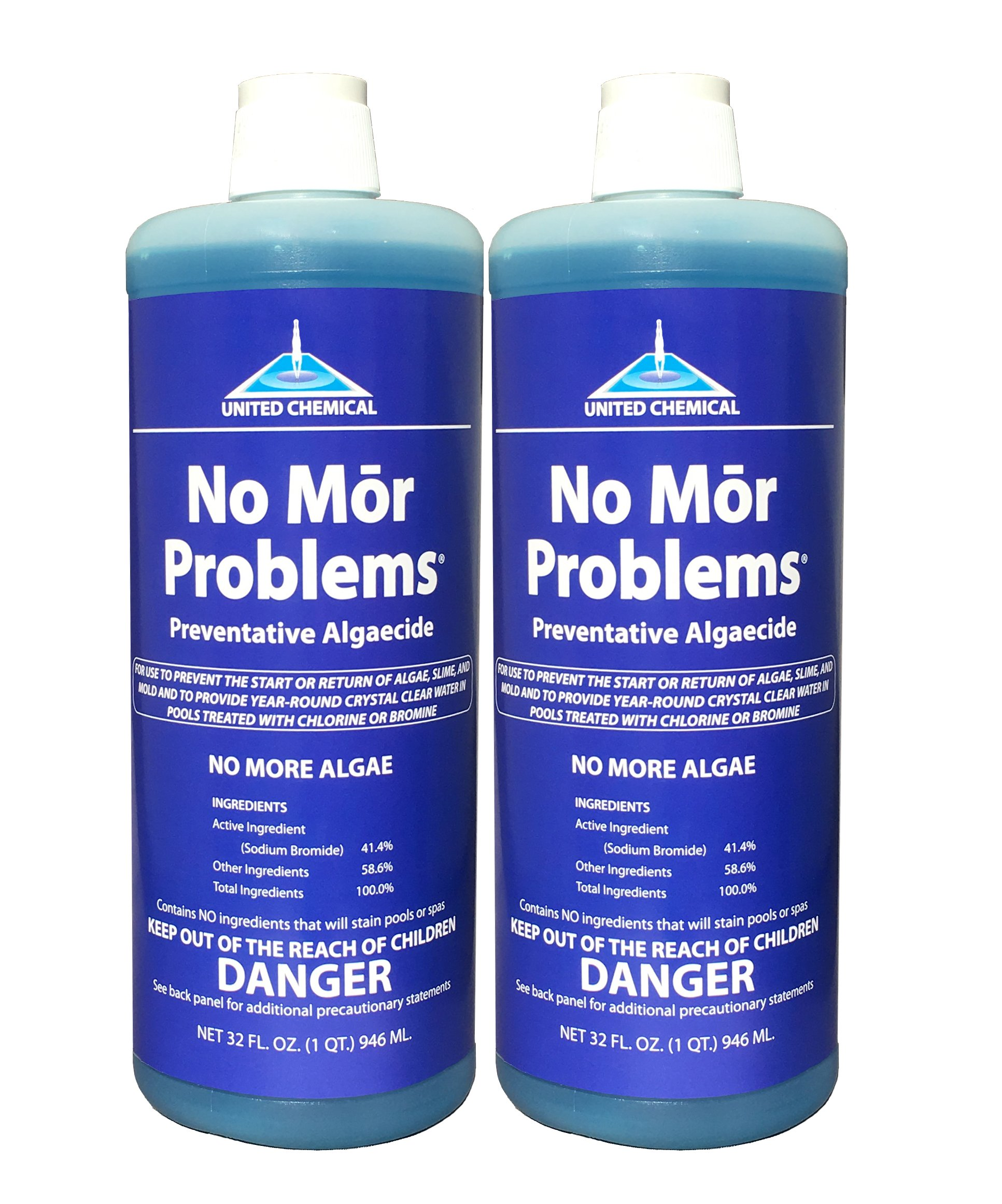 2 PACK - United Chemical No Mor Problems 1qt NMP-C12 by No Mor Problems
