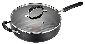 T-fal c08582 OptiCook Thermo-Spot de titanio antiadherente apta para lavavajillas Horno Jumbo