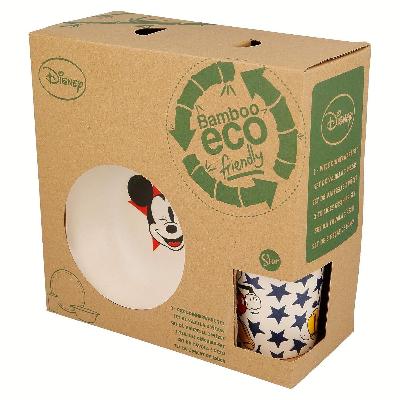 Mickey 3-Piece Elemed Eco-Friendly Bamboo Disney Set
