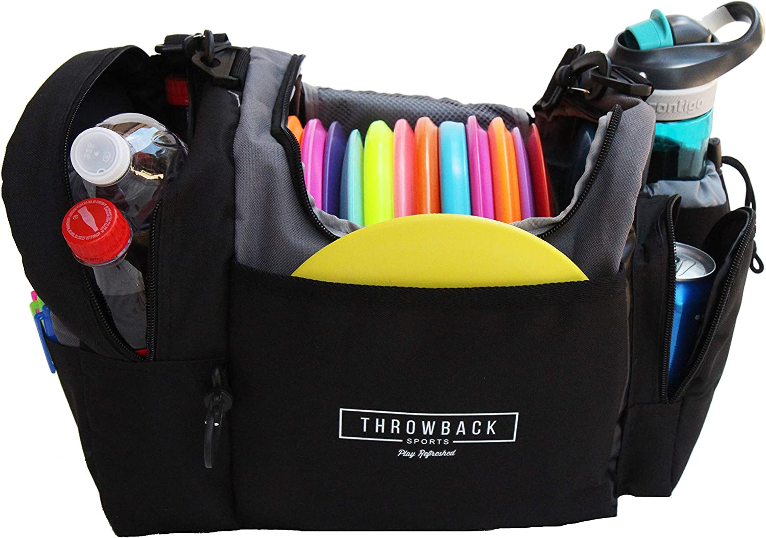 Frisbee Disc Golf Bag with Cooler