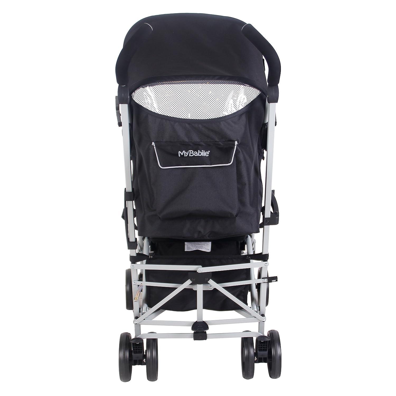 My Babiie US01 Black Baby Stroller - Lightweight Baby ...