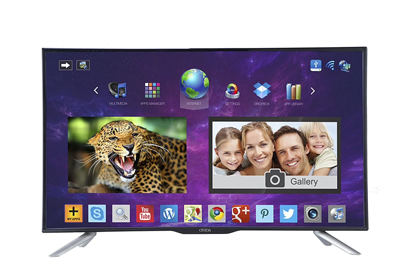 Best 40 inch LED TVs in India under 40,000 - Onida LEO40FSAIN/LEO40FAIN Full HD Smart Android LED TV