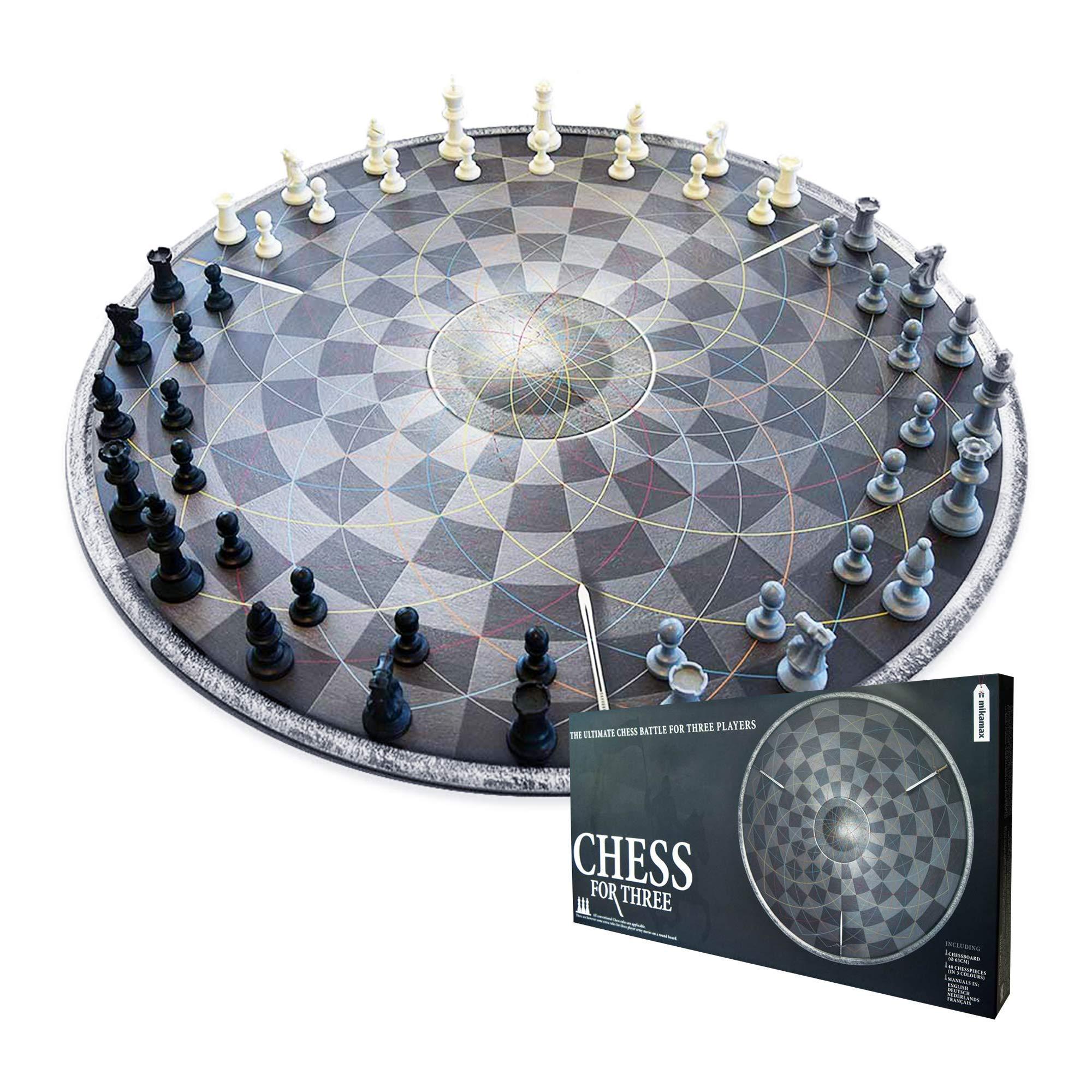 mikamax - Schach für DREI Bild