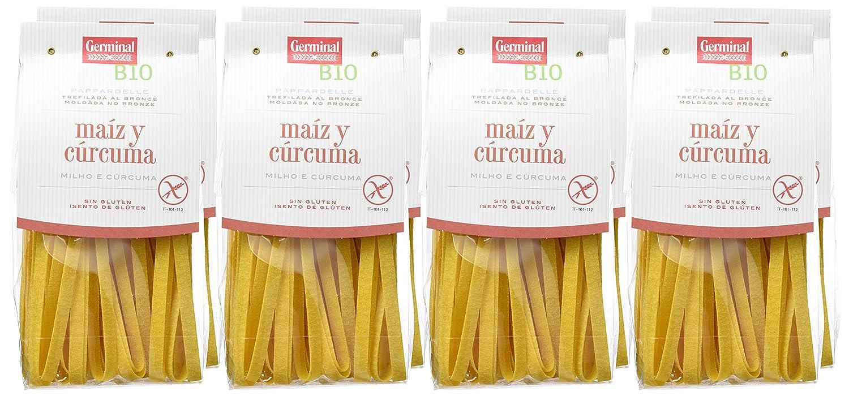 Germinal Papperdelle de Maíz y Cúrcuma Sin Gluten - Paquete ...