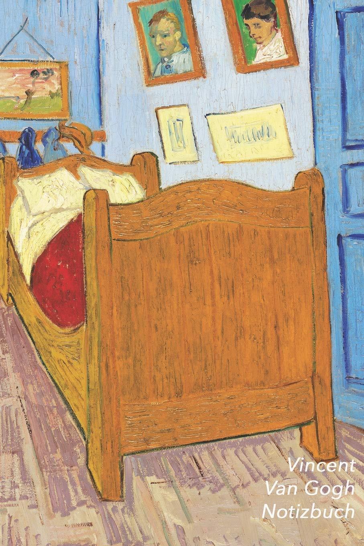 Vincent van Gogh Notizbuch: Schlafzimmer in Arles  Perfekt für