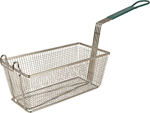 "Update International (FB-135PH) 13 1/4"" x 5 5/8"" Rectangular Wire Fry Basket"
