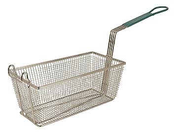 Update International (FB-126PH) 12 7/8 x 6 1/2 Rectangular Wire Fry Basket by Update International: Amazon.es: Hogar