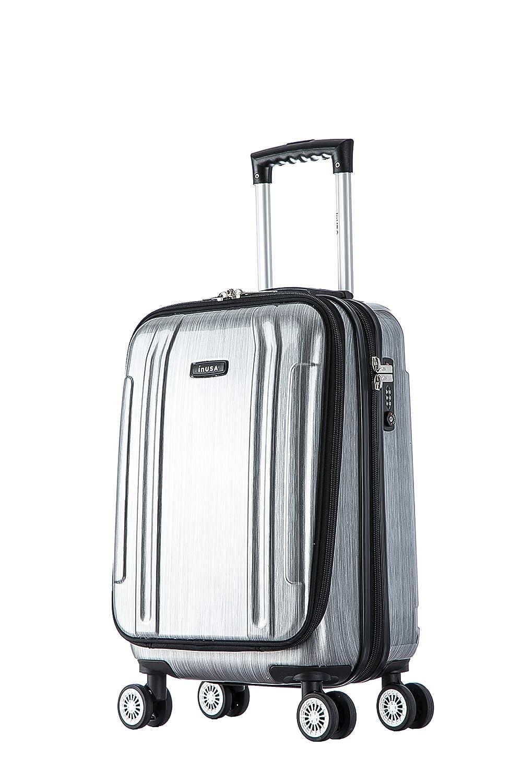 Amazon.com: Maleta, de InUSA, equipaje de mano, ligera, 19 ...