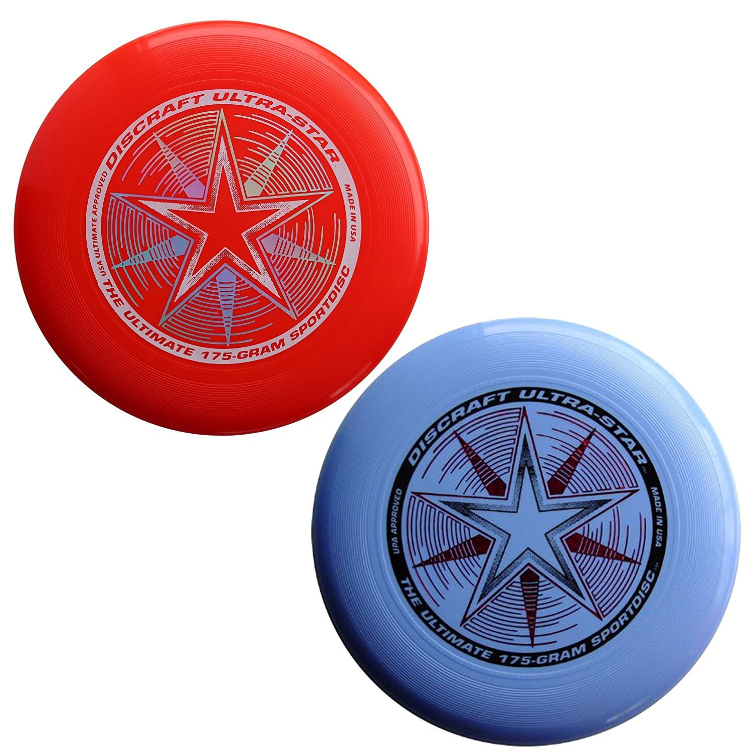 Discraft 175 gram Ultra Star Sport Disc. (2 pack) by Discraft