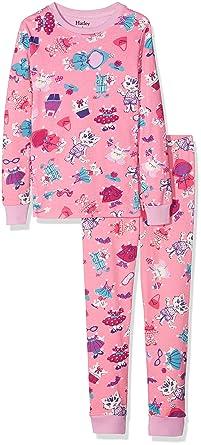 72a5abafb78d07 Hatley Girl's Organic Cotton Long Sleeve Printed Pyjama Sets: Amazon ...