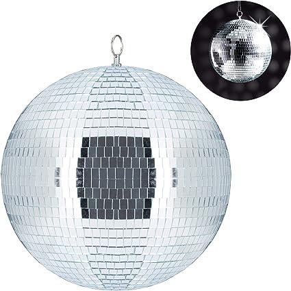20 cm Palla da discoteca da appendere colore argento