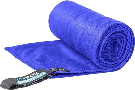 Alpinismo y Trekking Unisex Adulto Sea to Summit Pocket Towel L Toalla Monta/ñismo