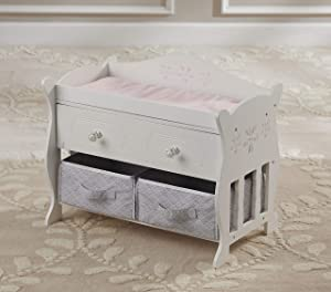 You & Me Baby So Sweet Wooden Changing Table