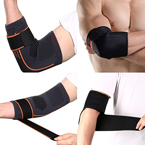 Elbow Support Brace For Men And Women Tennis And Golfers Adjustable Lightweight Waterproof Arm Strap With Eva Compression Pad Support For Effective Ligament Joint Pain Relief Amazon Co Uk Health Personal Care
