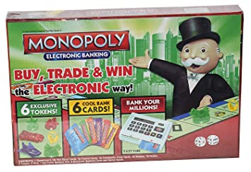 Urban Creation Monopoly Electronic Banking Board Game for Kids and Adults