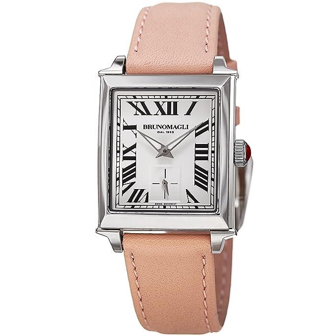 Amazon.com: Bruno Magli Womens Valentina 1061 Swiss Quartz Italian Leather Strap Watch: Bruno Magli: Watches