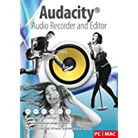 Audacity® Audio Recorder and Editor - Your professional sound studio for recording, editing and playing all common audio files: WAV, AIFF, FLAC, MP2, MP3, OGG Vorbis I For PC + Mac