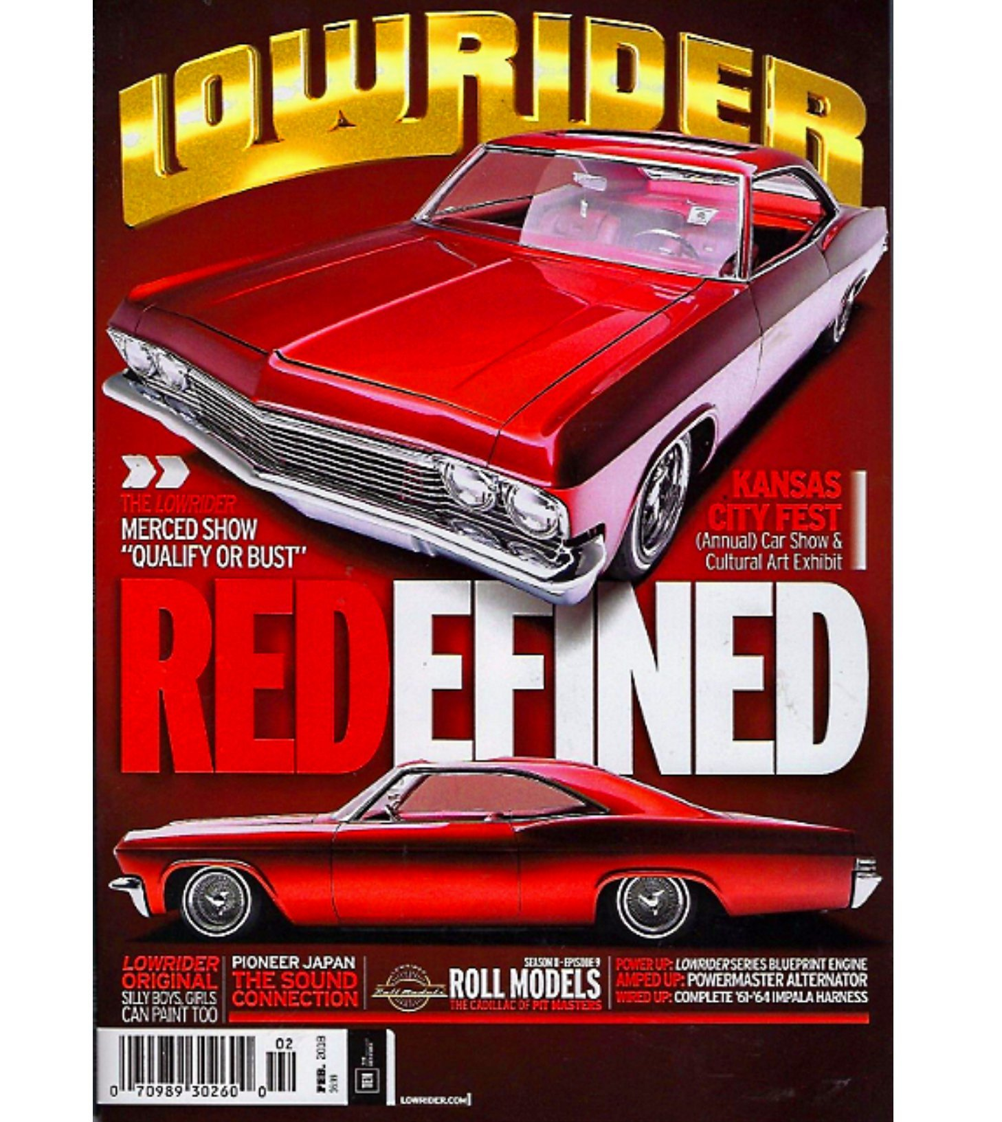 LOWRIDER Magazine February Kansas City Car Art Show Merced - Car show kansas city