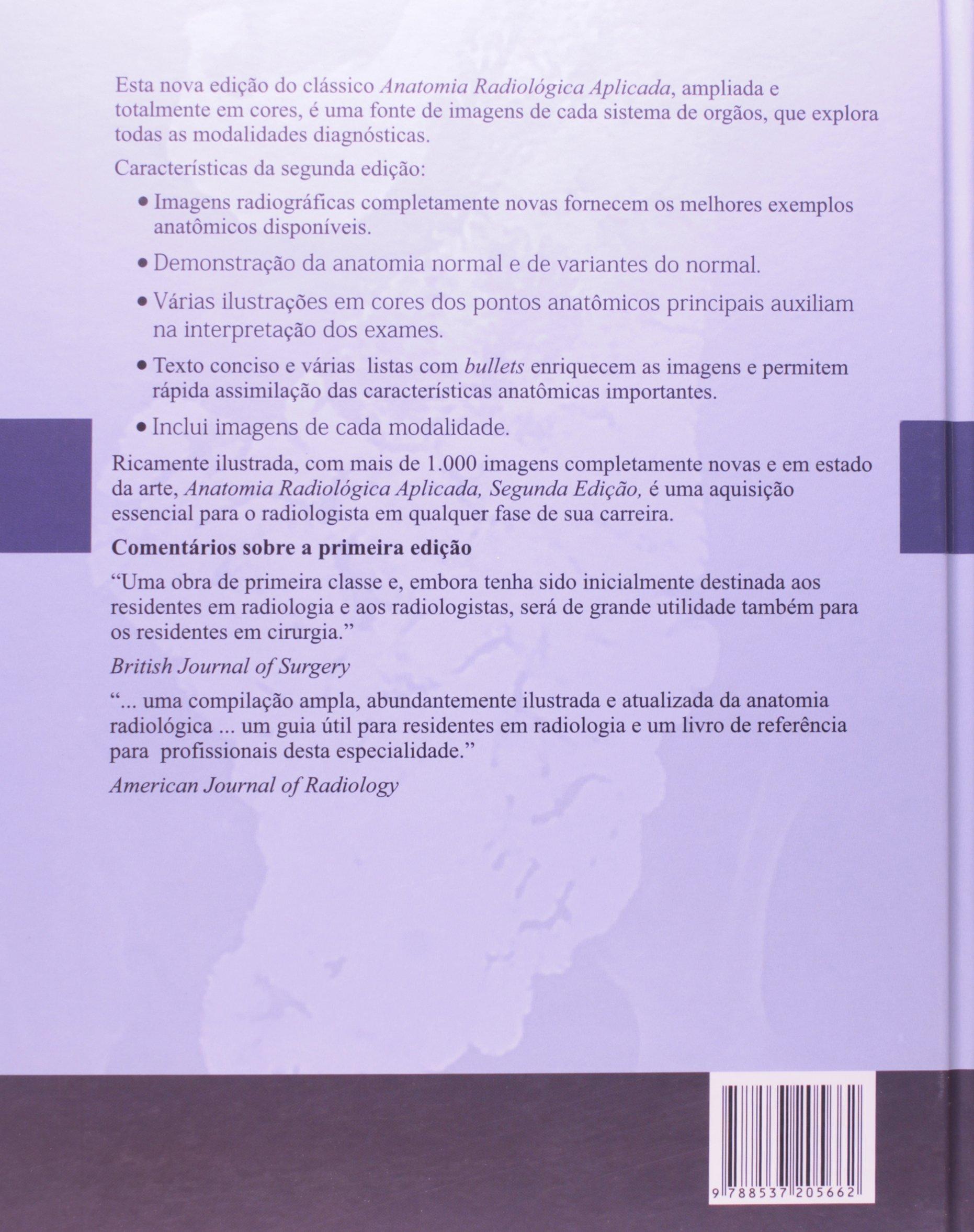 Anatomia Radiologica Aplicada: Amazon.es: Butler: Libros