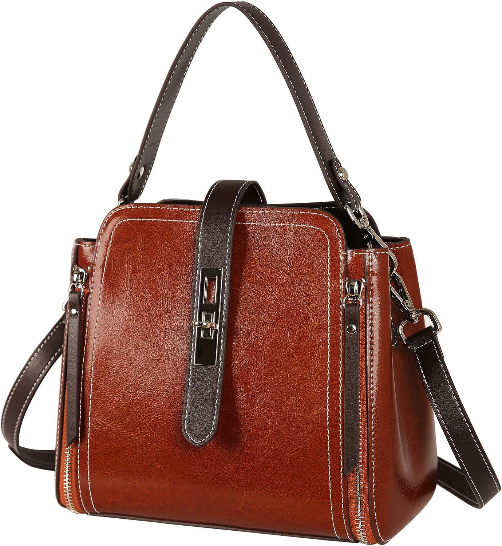 Heshe Women Leather...