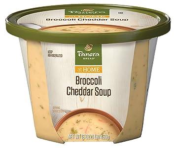 Panera Bread Broccoli Cheddar Soup, 16 oz: Amazon.com: Grocery ...