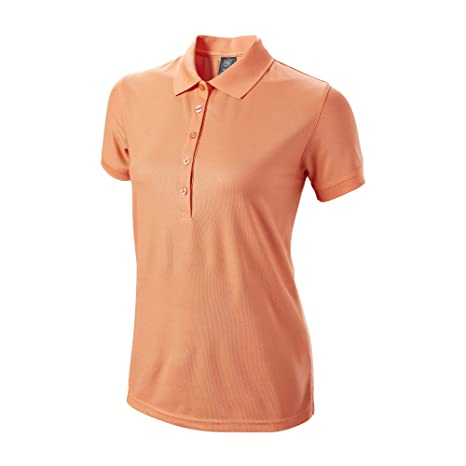 Wilson Authentic - Polo para Mujer, Color Naranja: Amazon.es ...