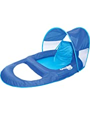 SwimWays Spring Float Recliner with Canopy