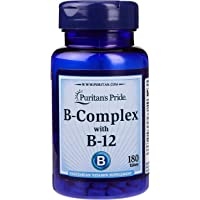 Puritan's Pride Vitamin B-Complex And Vitamin B-12, 180ct