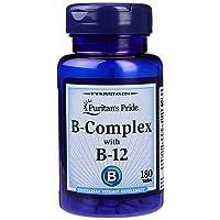 Puritans Pride Vitamin B-Complex and Vitamin B-12, 180 Count