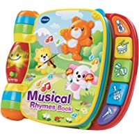 VTech Baby 166703 Musical Rhymes Book, Multi