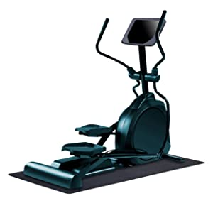 "MotionTex 8M-110-30C-5.5 Fitness Equipment Mat, 30"" x 66"", Black"