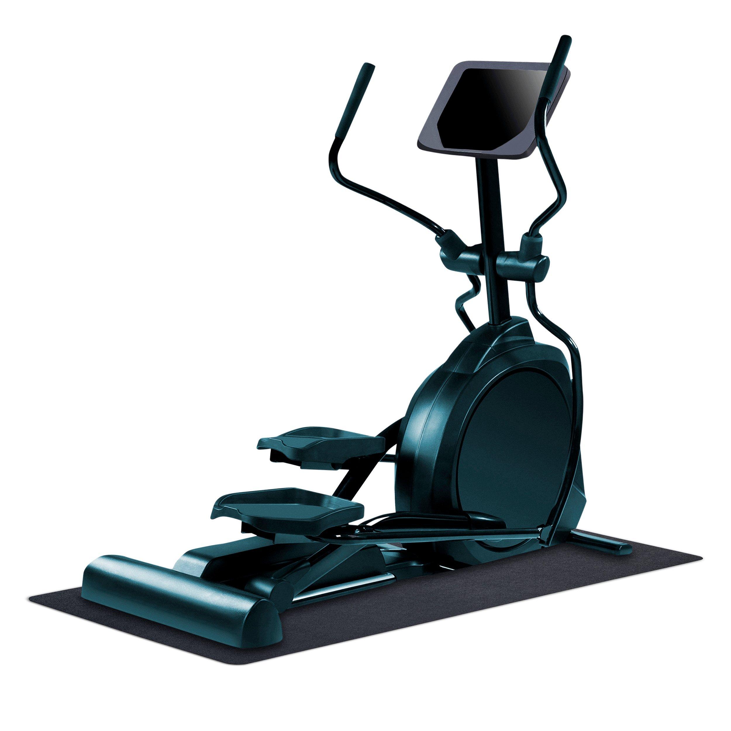 MotionTex 8M-110-30C-5.5 Fitness Equipment Mat, 30'' x 66'', Black