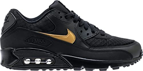 air max blak and gold