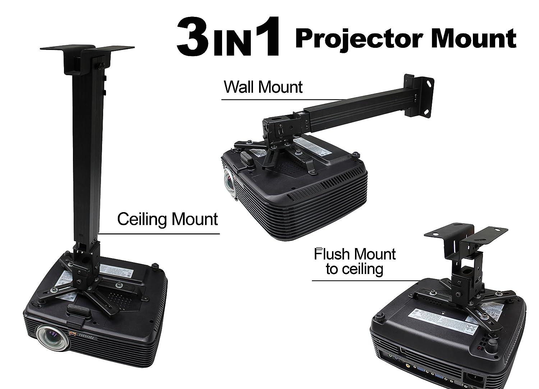 Delightful Amazon.com: Elite Screens Universal Projector Mount, Ceiling Mount Projector  Screen, Model: A56 E25B: Home Audio U0026 Theater