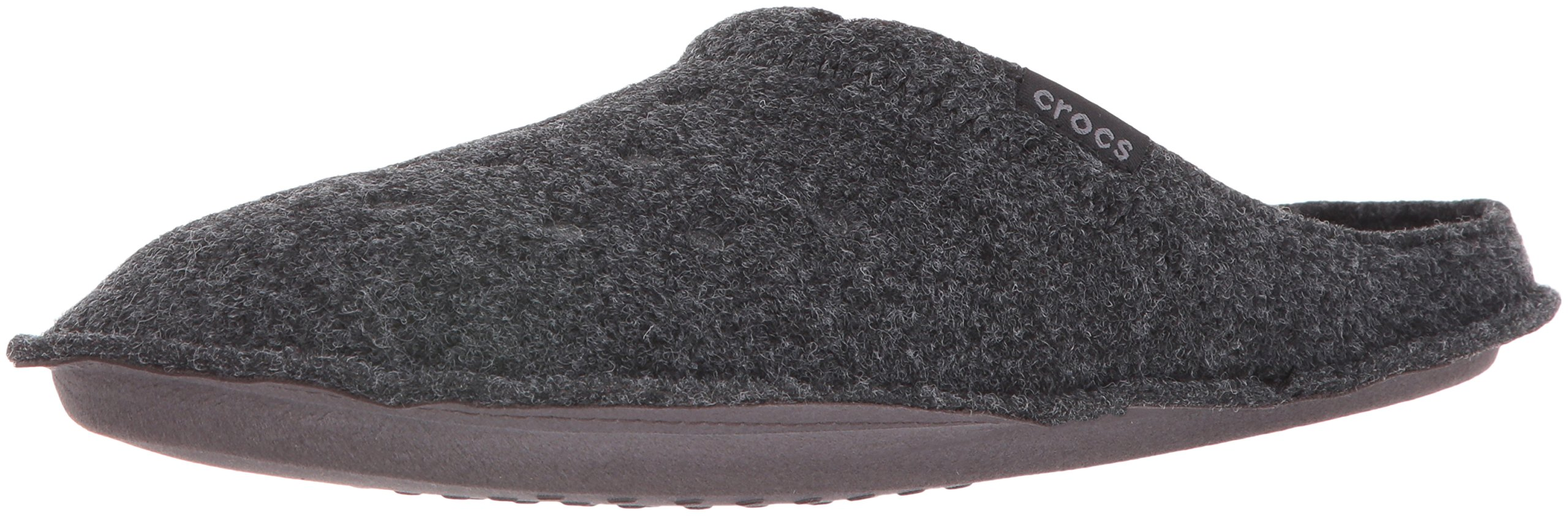 Crocs Unisex Classic Slipper Mule, Black/Black, 12 US Men / 14 US Women by Crocs