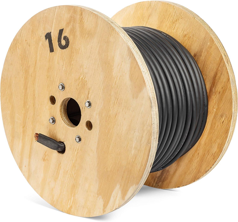 4//0 Gauge EWCS Brand 100/% Copper Premium Industrial Grade Extra Flexible Welding Cable 600 Volt 25 Feet Black Coil
