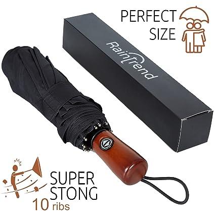 Amazon.com: Paraguas Premium resistente al viento – Paraguas ...