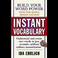 Instant Vocabulary (English Edition)