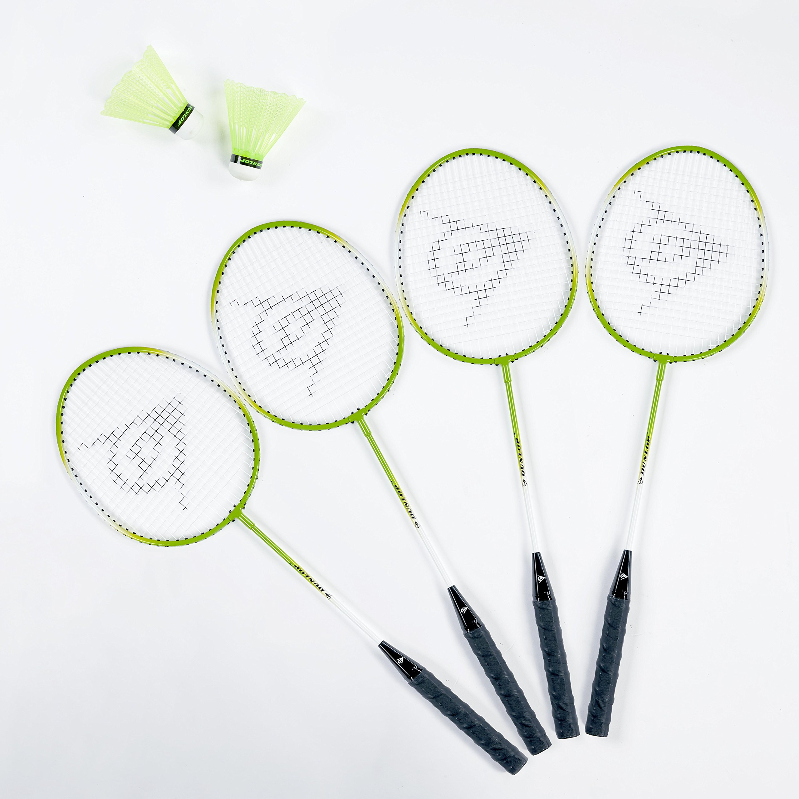 Dunlop Professional Volleyball Badminton Games: Classic Outdoor Lawn Game Set with Carry Bag by Dunlop (Image #2)