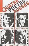 Quatre poètes russes