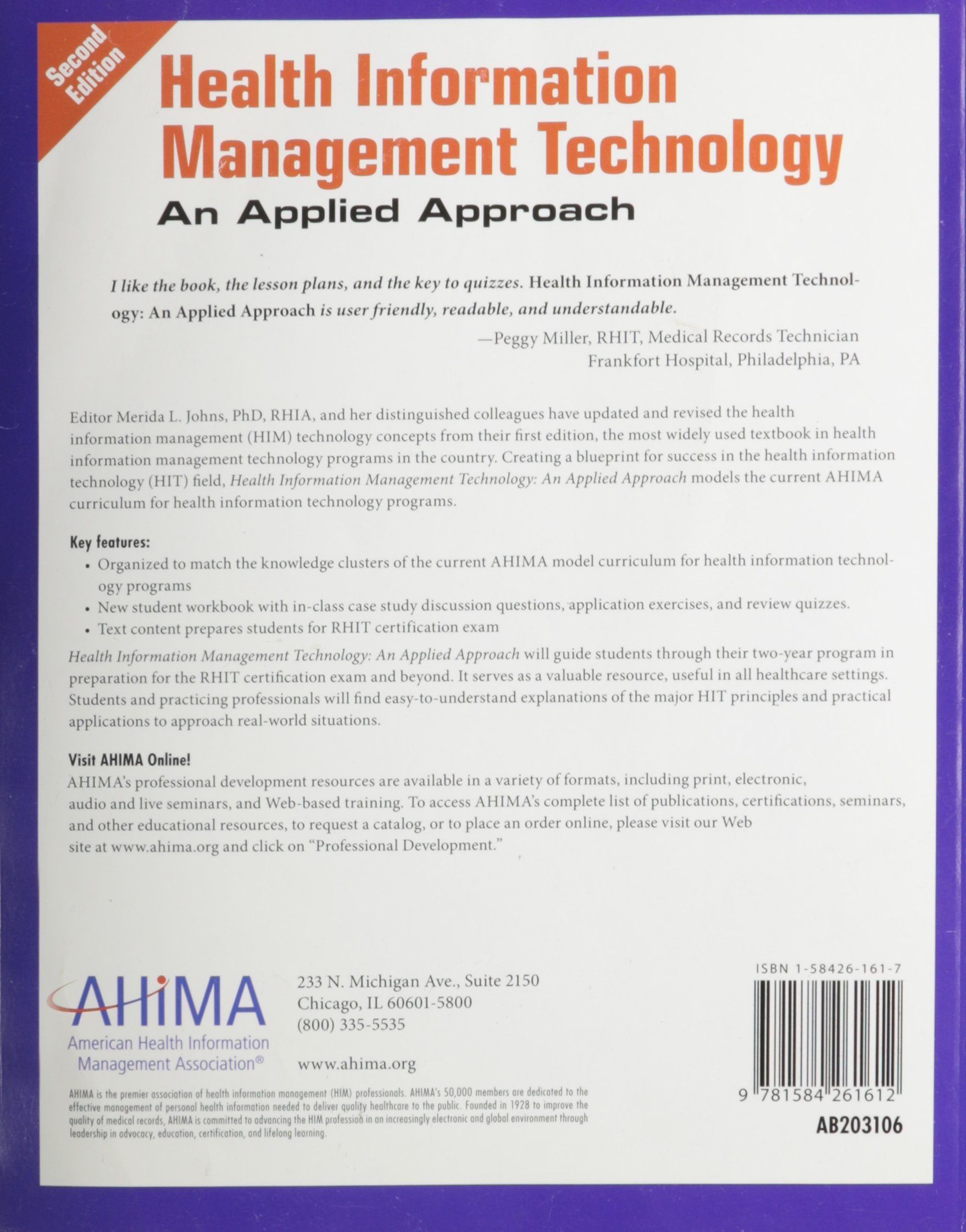 Amazon buy student workbook for health information management amazon buy student workbook for health information management technology an applied approach edition second book online at low prices in india xflitez Choice Image