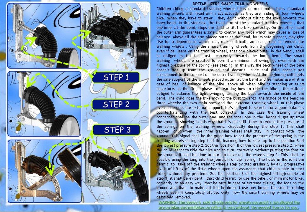 Estabilizadores para Bicicletas bicicleta para niños 10